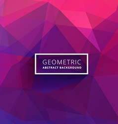 Purple pink abstract triangle background vector