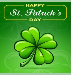 saint patricks day concept vector image