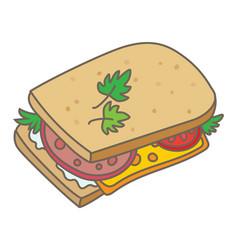 Sandwich vector