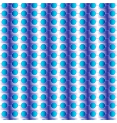 seamless pattern with circles blue vector image
