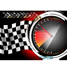Speedometer background vector