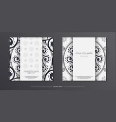 Vintage light color preparation greeting cards vector