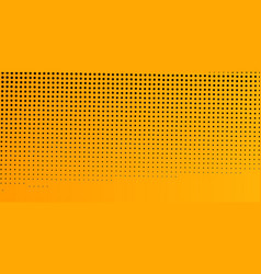 Yellow abstract dotted background vector