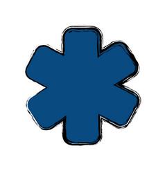 Medicine sign icon vector