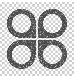 Air Drone Grainy Texture Icon vector image vector image