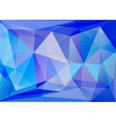 Abstract polygone background vector image vector image