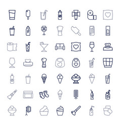 49 soft icons vector