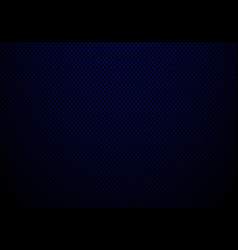 dark blue carbon fiber background and texture vector image