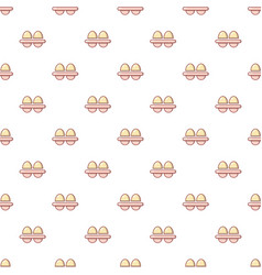 Fresh eggs pattern seamless vector