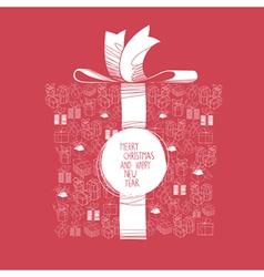 gift box abstract vector image