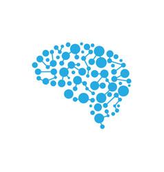 health brain vector image