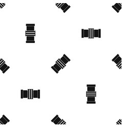 repair detail pattern seamless black vector image