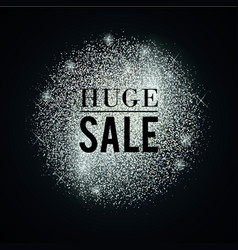 Silver-huge-sale vector
