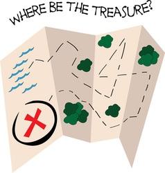 Where Treasure vector