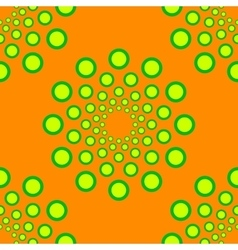 seamless dotted circles pattern repeating vector image