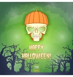Happy Halloween Banner2 vector image vector image