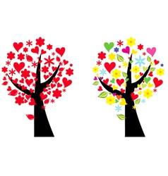 Artistic tree vector