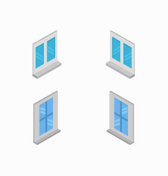 Window icon in on white background vector