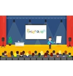 Seminar and training speaker vector