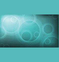 abstract gradient background with round pattern vector image vector image