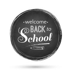 Back to School banner vector image vector image