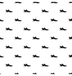 Athletic shoe pattern simple style vector image