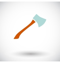 Axe icon vector image
