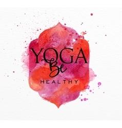 Beauty natural spa yoga health vector