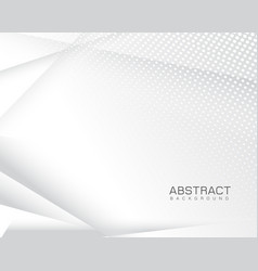 Modern abstract grey background vector