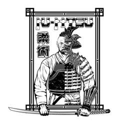 Samurai warrior 0002 vector