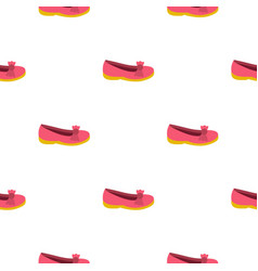 Shoe pattern seamless vector