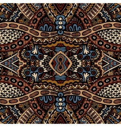 Tribal seamless pattern ornamental vector