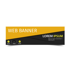 web banner two tone image vector image