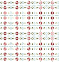 seamless christmas vector image