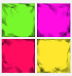 series of abstract halftone retro graphic effect vector image vector image