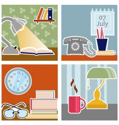 office design vector image vector image