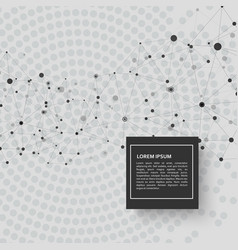 technology connection background and abstract vector image