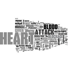 A heart to health talk text word cloud concept vector