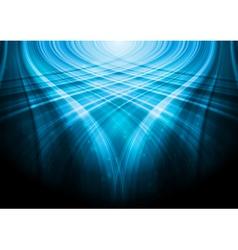 Blue vibrant design vector image vector image