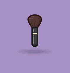 Brush icon for make up brush vector
