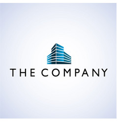 Building logo ideas design vector