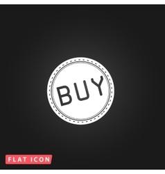 Buy Badge flat icon vector