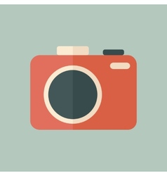 Flat Photo Icon vector