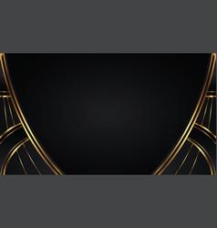 Luxury abstract dark background vector