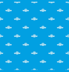 nature pattern seamless blue vector image