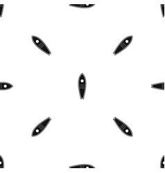 surfboard pattern seamless black vector image