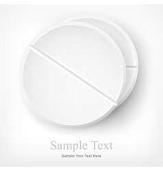 Tablets text vector image