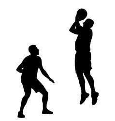 basketball game vector image
