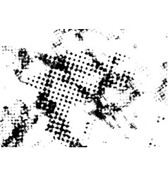 torn ripped abstract black and white overlay vector image