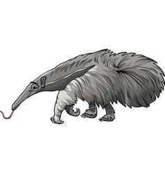 anteater animal cartoon vector image vector image